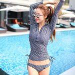 ชุดว่ายน้ำแขนยาวกัน UV